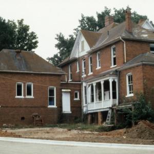 View, Bishop's House, Raleigh, Wake County, North Carolina