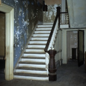 Stairs, Heck-Andrews House, Raleigh, Wake County, North Carolina