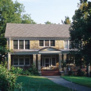 Front view, House, Dorothea Dix Hospital, Raleigh, Wake County, North Carolina