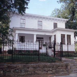 Front view, Bagley-Daniels-Pegues House, Raleigh, Wake County, North Carolina