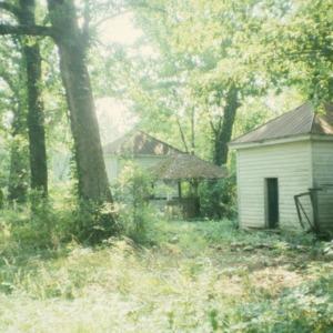 Outbuilding, Oakley Hall, Ridgeway, Warren County, North Carolina