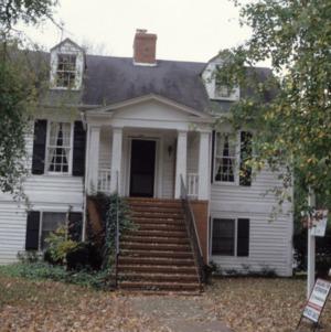 Front view, Jacob W. Holt House, Warrenton, Warren County, North Carolina