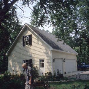 Garage, Green-Parker-Tarwater House, Warrenton, Warren County, North Carolina