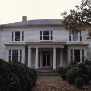 Front view, Somerville-Graham House, Warrenton, North Carolina