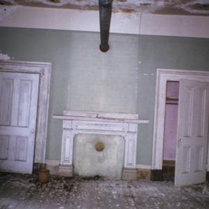 Interior view, Watson House, Warren County, North Carolina