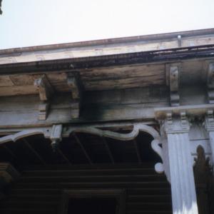 Exterior detail, Watson House, Warren County, North Carolina