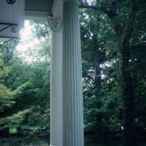 Columns, Boyd-Kerr House, Warrenton, Warren County, North Carolina
