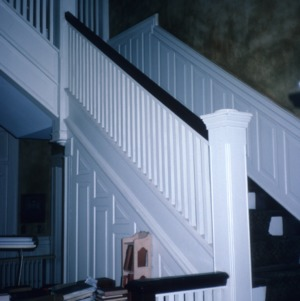 Stairs, Boyd-Kerr House, Warrenton, Warren County, North Carolina