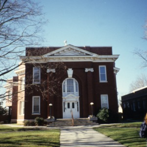 Front view, Warren County Courthouse, Warrenton, Warren County, North Carolina