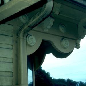 Exterior detail, Hayes House, Blowing Rock, Watauga County, North Carolina