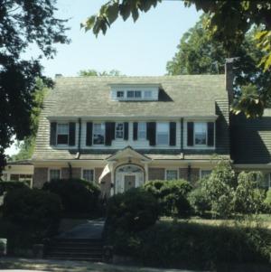 Front view, Harry Fitzhugh Lee House, Goldsboro, Wayne County, North Carolina
