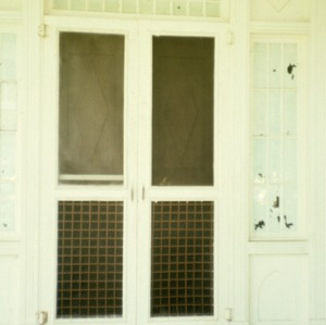 Door, Johnson-Hubbard House, Wilkesboro, Wilkes County, North Carolina