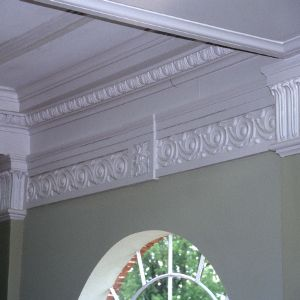 Interior detail, Charles L. Coon School, Wilson County, North Carolina