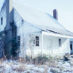 View, Webb-Barron-Wells House, Wilson County, North Carolina