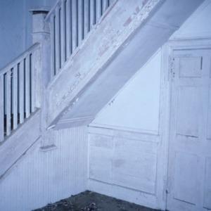 Interior view, Webb-Barron-Wells House, Wilson County, North Carolina