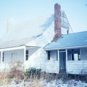 Front view, Webb-Barron-Wells House, Wilson County, North Carolina