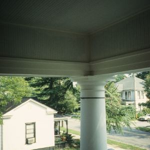 Column detail, Mercy Hospital (Wilson Hospital and Tubercular Home), East Wilson, Wilson County