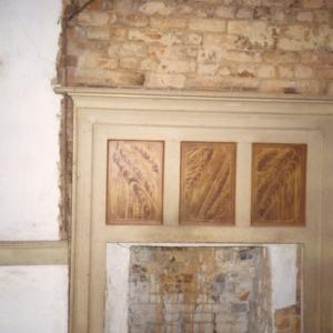 Fireplace, Durrett-Jarrett House, Yadkin County, North Carolina