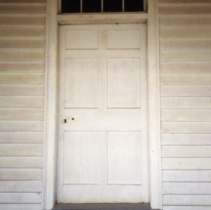 Door, Durrett-Jarrett House, Yadkin County, North Carolina