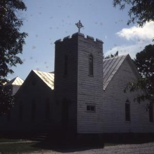 View, St. John the Evangelist Episcopal Church, Edenton, Chowan County, North Carolina