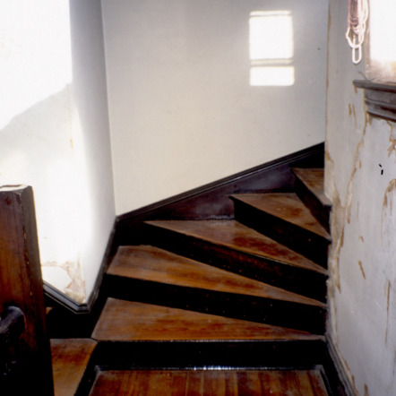 Stairs, Morrison House, Iredell County, North Carolina