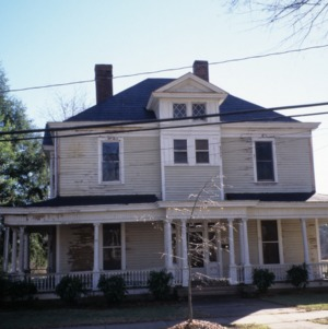 Front view, Morrison House, Iredell County, North Carolina