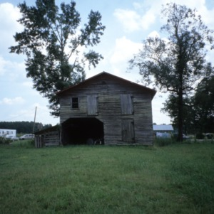 Barn view, George M. Witherington House, Craven County, North Carolina