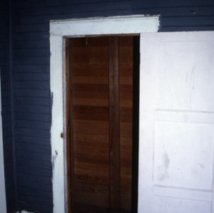Doorway, George M. Witherington House, Craven County, North Carolina