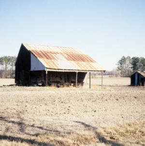Outbuilding, Alfred Chapman House, Chapman's Chapel, Craven County, North Carolina
