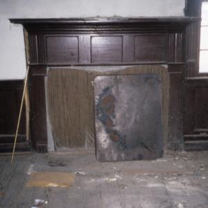 Fireplace, Alfred Chapman House, Chapman's Chapel, Craven County, North Carolina