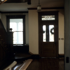 Interior view, Ferd Ecker House, High Point, Guilford County, North Carolina