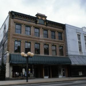Front view, Vernon Building, Greensboro, Guilford County, North Carolina