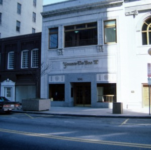 Front view, Younts-DeBoe Building, Greensboro, Guilford County, North Carolina