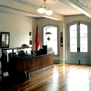 Interior view, Henry Clay Brittain Store, Summerfield, Guilford County, North Carolina