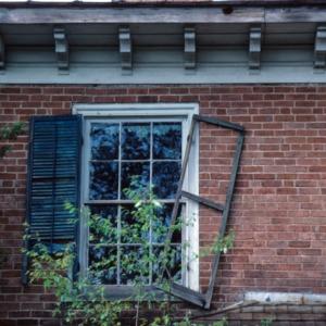 Window, Parker-Troxler House, Guilford County, North Carolina