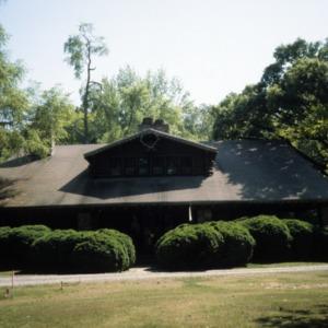 Front view, Timbroley Hollow Lodge, Greensboro, Guilford County, North Carolina