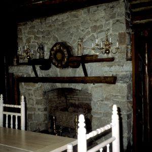 Fireplace, Timbroley Hollow Lodge, Greensboro, Guilford County, North Carolina