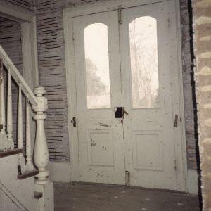 Front doorway, Corbett-Hester House, Orange County, North Carolina