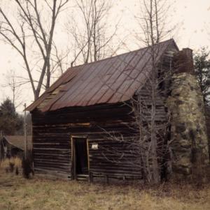 Outbuilding view, Corbett-Hester House, Orange County, North Carolina