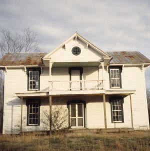 Front view, Corbett-Hester House, Orange County, North Carolina