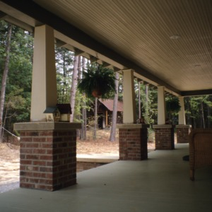 Porch, Maddry House, Orange County, North Carolina