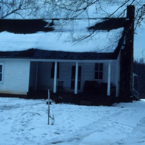 Front view, Tinin House, Orange County, North Carolina