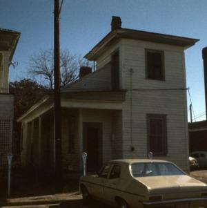 Outbuilding view, Latta Thornton House, Fayetteville, Cumberland County, North Carolina