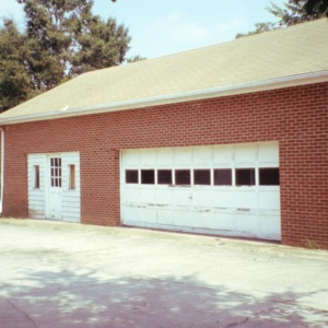 Garage view, 1800 Angier Avenue, Durham, Durham County, North Carolina