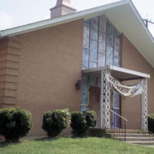 Front view, 1802 Angier Avenue, Durham, Durham County, North Carolina