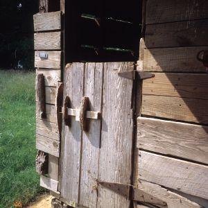 Doorway, Southerland-Foushee Farm, Durham County, North Carolina