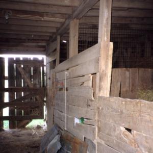 Interior view, Southerland-Foushee Farm, Durham County, North Carolina