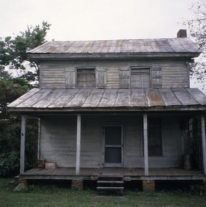 Front view, Clayton Farm, Forsyth County, North Carolina