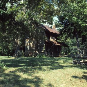 View, Pfaff House, Forsyth County, North Carolina