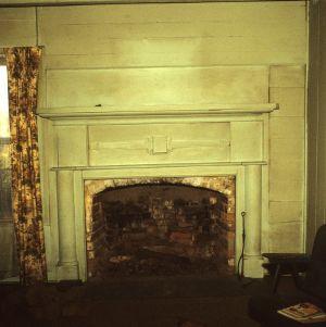 Fireplace, Ziglar House, Forsyth County, North Carolina